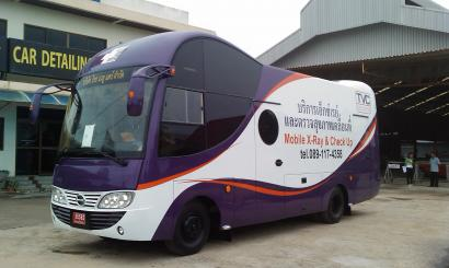 MOBILE X-RAY AND CHECK-UP